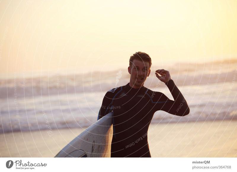 liberdade IV Mann Jugendliche Ferien & Urlaub & Reisen Freude Stil Horizont Kunst maskulin Wellen Freizeit & Hobby Zufriedenheit elegant Lifestyle Design modern ästhetisch