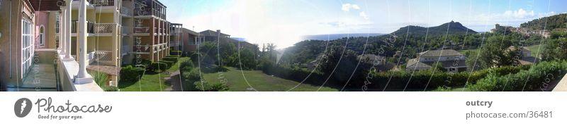 Côte d´Azur Panorama Frankreich Panorama (Aussicht) Meer Europa cote dazur clubanlage Landschaft côte d´azur groß