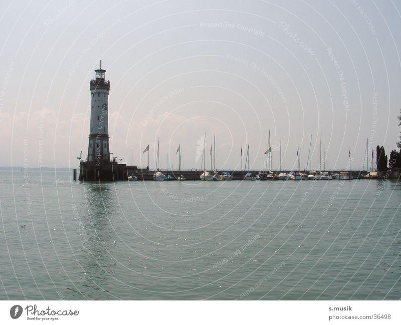 Lindau Wasser See Stimmung Europa Leuchtturm Bodensee
