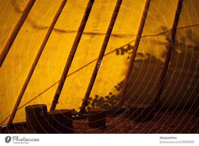 Licht und Schatten - Zelt Romantic Mensch Camping Ferien & Urlaub & Reisen Farbfoto Erholung Sommer Abenteuer Natur Sonnenlicht Freiheit Tourismus
