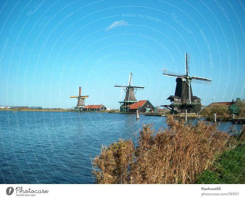 Windmühlen Architektur Niederlande Mühle