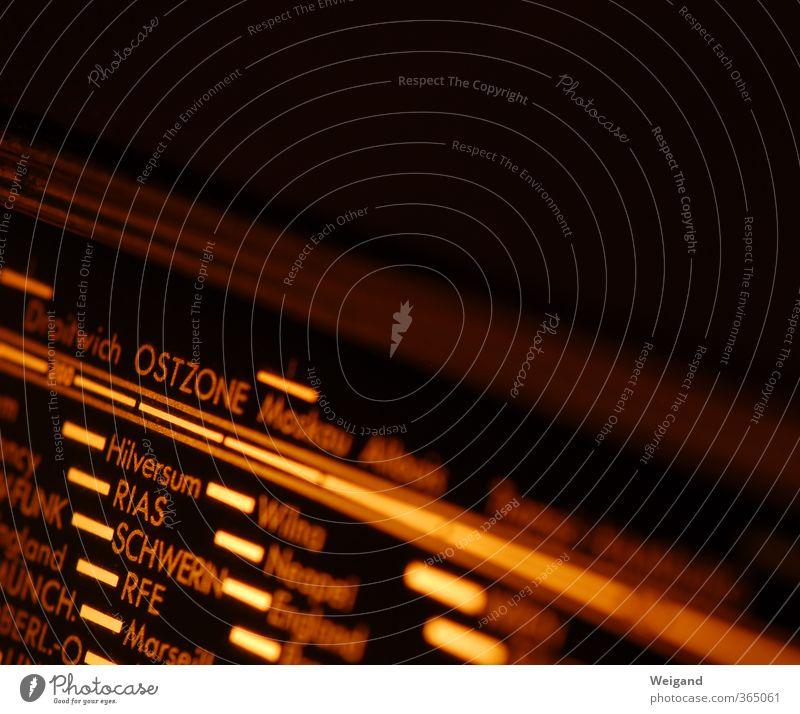 Weltenreiter Radiogerät Technik & Technologie Unterhaltungselektronik hören braun Röhren Sender Weltreise Ostzone Schwerin Nostalgie Verkehrsfunk Farbfoto