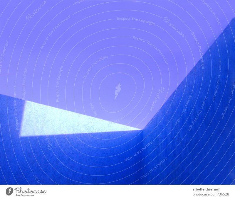 JJJJJJetzt! Lichteinfall Wand Gebäude Architektur Ecke Himmel Perspektive blau