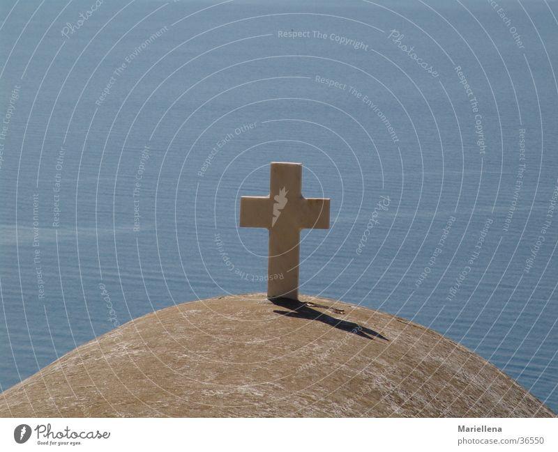 Kruzifix über dem Meer Religion & Glaube Europa Insel Griechenland