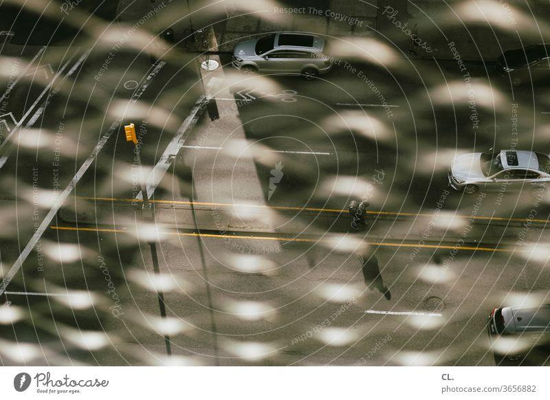straßenverkehr in der großstadt Straße Straßenverkehr Auto Verkehr Wege & Pfade Fußgänger urban Stadt Komplexität Ampel Verkehrswege Autofahren PKW Fahrzeug