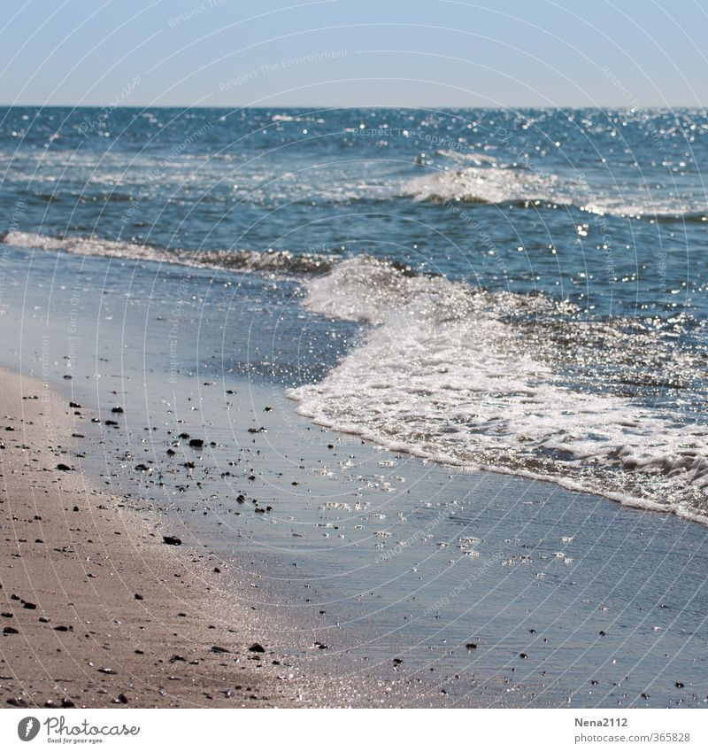 Ferienanfang :) Umwelt Natur Landschaft Wasser Wassertropfen Sommer Wetter Schönes Wetter Wind Wellen Strand Nordsee Ostsee Meer Stimmung Sehnsucht Heimweh