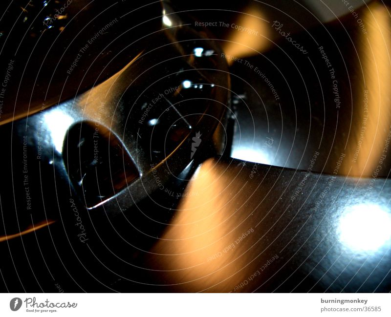 rotate Belüftung Luft rotieren drehen Windzug schwarz Elektrisches Gerät Technik & Technologie Makroaufnahme