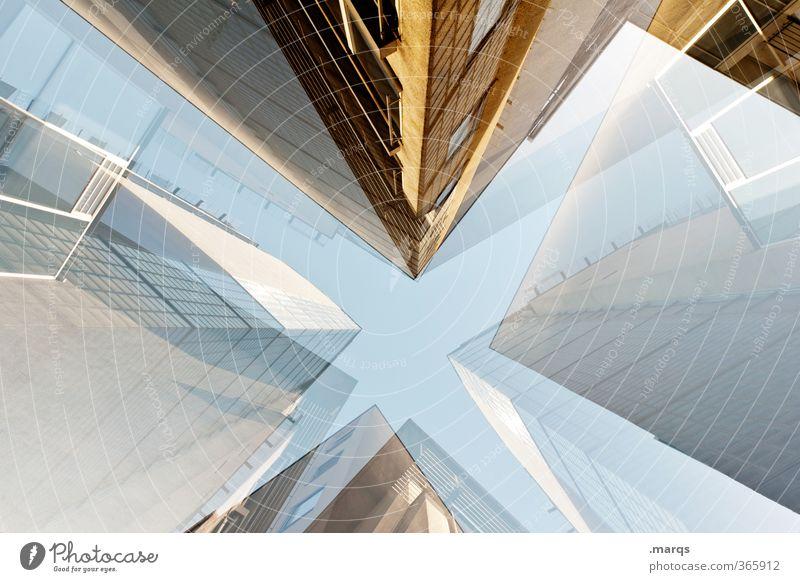 Predigertor Haus Architektur Gebäude Stil außergewöhnlich Fassade elegant Lifestyle groß Design hoch Perspektive verrückt Zukunft trendy Futurismus