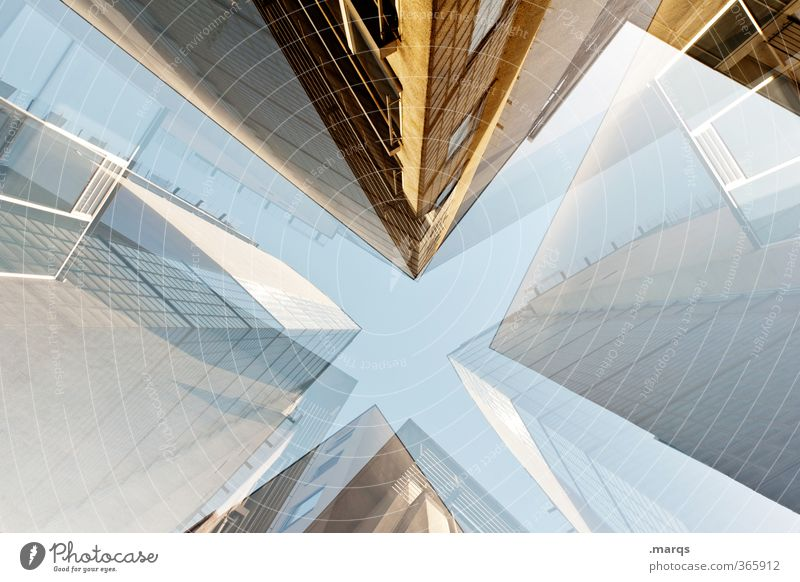 Predigertor Lifestyle elegant Stil Design Haus Gebäude Architektur Fassade außergewöhnlich eckig groß trendy hoch verrückt Perspektive Zukunft Immobilienmarkt