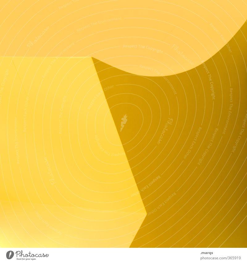 \u Lifestyle elegant Stil Design Innenarchitektur Architektur eckig einfach trendy rund schön gelb Farbe modern Ordnung Perspektive Präzision rein