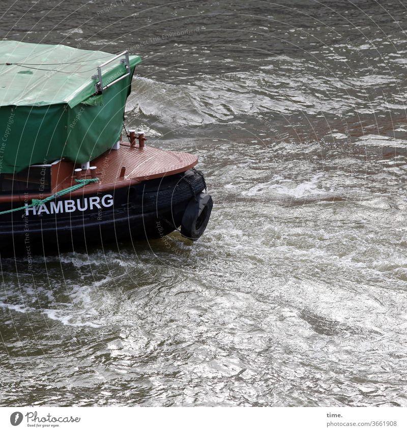 halb verplant | UT HH 19 plane schiff schwimmen hamburg metall kunststoff abdeckung schutz sicherheit laderaum transport falte faltenwurf geheimnis inspiration