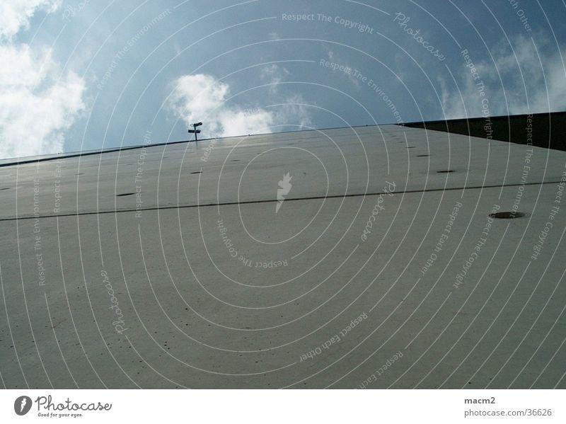 Wand und Himmel Architektur