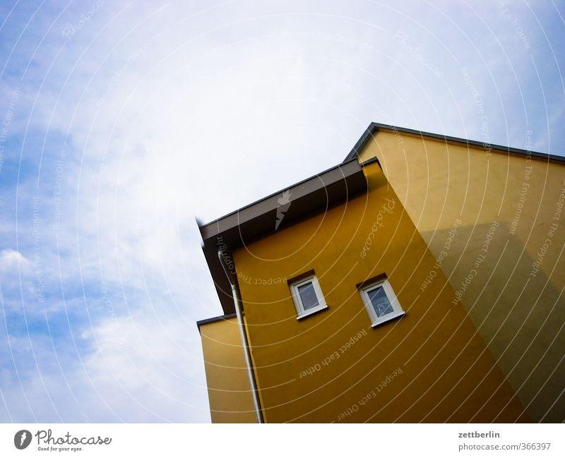 Schwedt Himmel Natur Ferien & Urlaub & Reisen schön Sommer Wolken Haus Fenster Wand Mauer Wohnung Häusliches Leben paarweise Dach Ecke gut