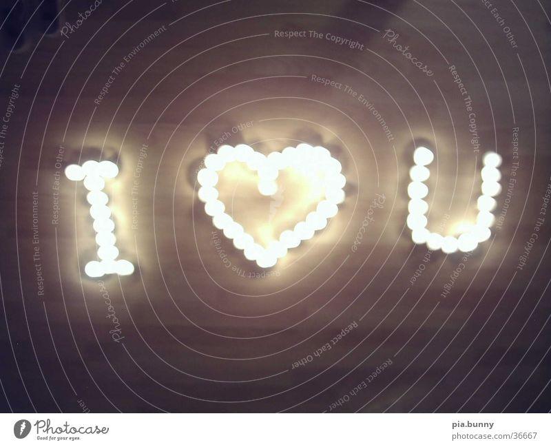 ich liebe dich Liebe Kerze Dinge