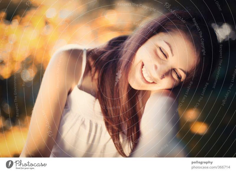 native Mensch feminin Junge Frau Jugendliche Erwachsene Leben 1 18-30 Jahre Umwelt Natur Landschaft Pflanze Sommer Schönes Wetter Gefühle Stimmung Freude Glück