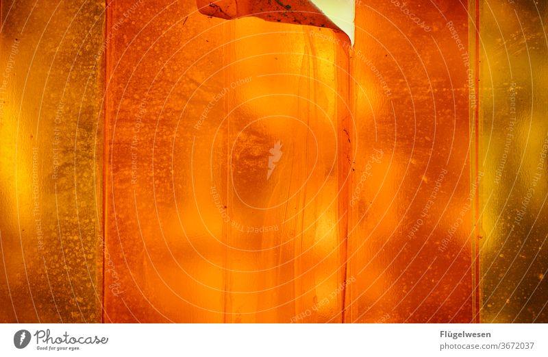 verklebt orange orange-rot orange Farbe Folie folienfarben Folien klebestreifen Paketband Klebeband überlagert