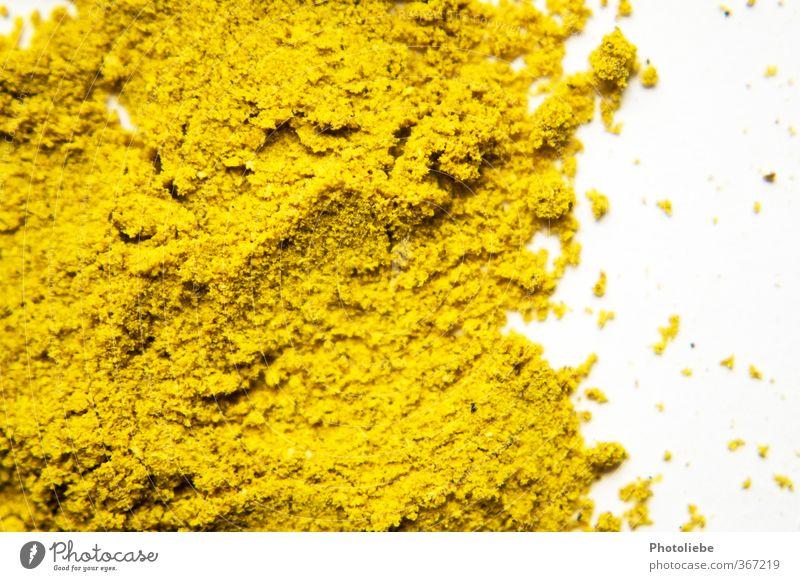 CURRY gelb natürlich Lebensmittel gold authentisch ästhetisch Kochen & Garen & Backen trocken Kräuter & Gewürze nah lecker Indien exotisch Qualität Küchenkräuter Asiatische Küche
