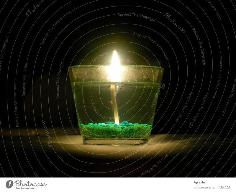 Kerze im Glas 2 Glas Kerze durchsichtig Flamme Kerzenglas
