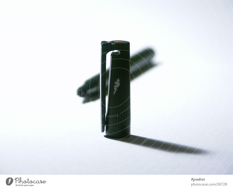 Lumocolordeckel hinter Stift 2 Schreibstift Schreibgerät Filzstift