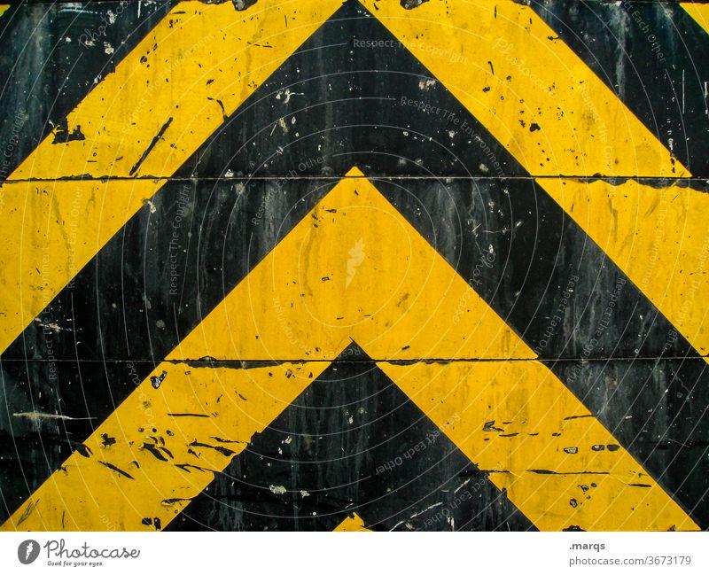 Heavy Metal Muster Design Verkehr Metall Linie dreckig Grafik u. Illustration einfach schwarz Symmetrie gelb Hintergrundbild Schilder & Markierungen Kratzer