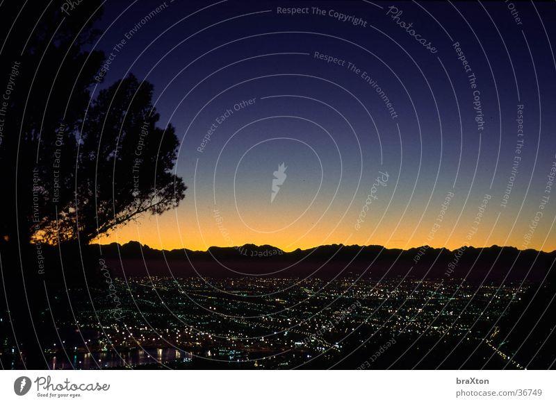 Panorama Berge u. Gebirge Aussicht Afrika Lichtspiel überblicken