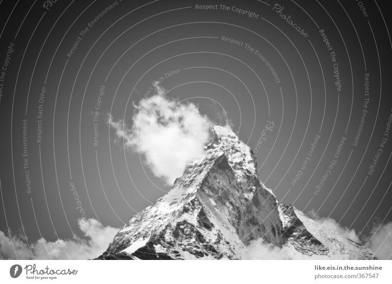 paramount pictures präsentiert... Natur Ferien & Urlaub & Reisen Landschaft Wolken Ferne Umwelt kalt Berge u. Gebirge Schnee Freiheit Freizeit & Hobby Klima