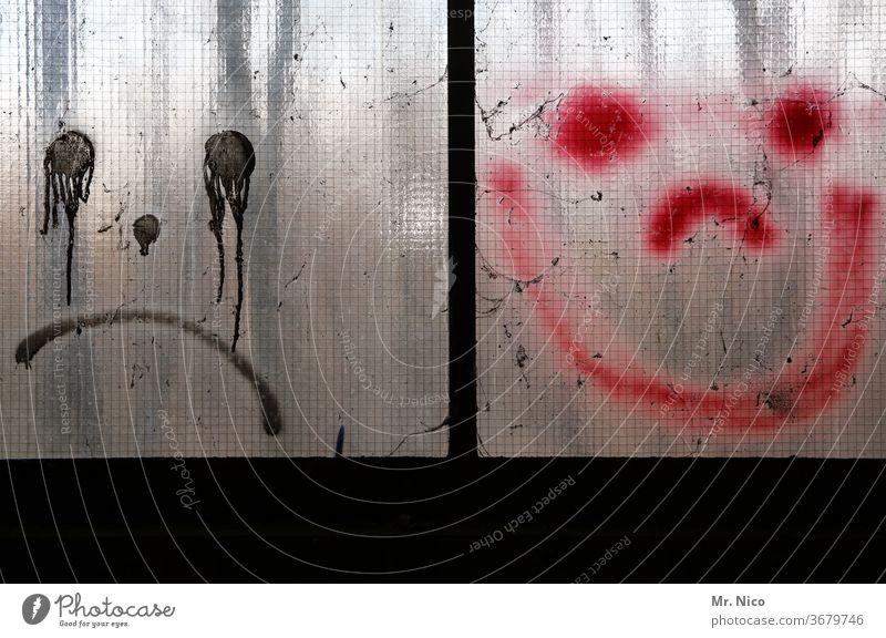 Gegensätze I weinen oder lachen Smiley Smiley-Gesicht Smiley-Symbol lustig Freude Lächeln Fröhlichkeit Zeichen Glück Lebensfreude positiv negativ Optimismus