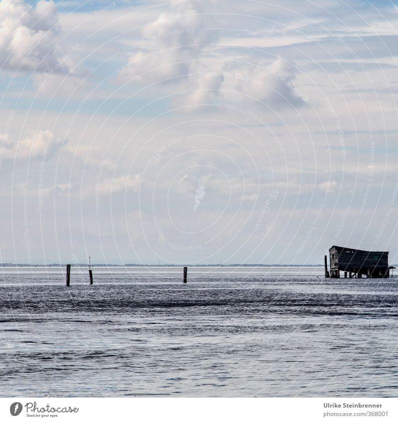 Laguna Himmel Natur Ferien & Urlaub & Reisen Wasser Meer Einsamkeit Wolken Horizont Wellen Tourismus stehen Italien Hütte Gelassenheit Schifffahrt Wachsamkeit