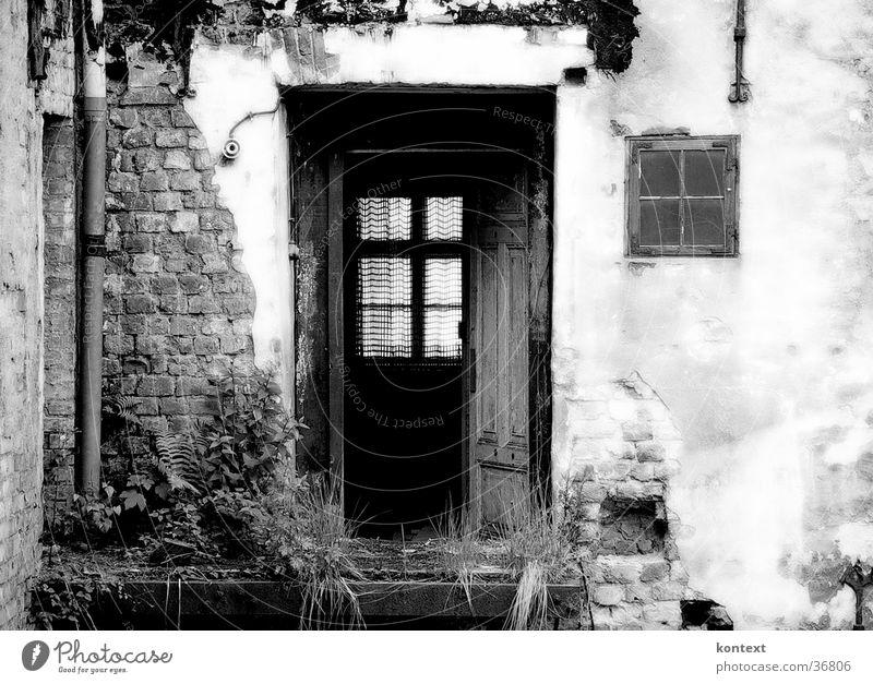 schöne aussichten alt Haus Tür historisch Demontage