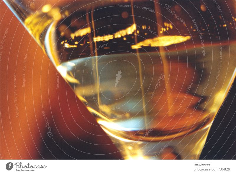 SektglasMacro Feste & Feiern Alkohol Getränk Glas