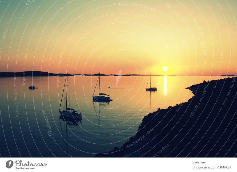 J´ai envie de toi. J´ai envie de partir au loin. Segeln Abenteuer Ferne Freiheit Sonne Meer Insel Sommer Küste ästhetisch glänzend Warmherzigkeit Romantik ruhig