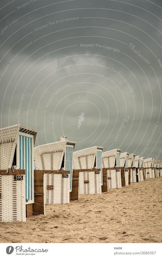 Solange es nicht regnet, ist das Wetter sehr gut. Punkt. Ferien & Urlaub & Reisen Himmel Rostock Deutschland Mecklenburg-Vorpommern Warnemünde Farbfoto