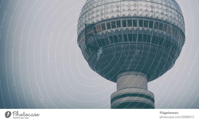 Bärlin Berlin Berliner Fernsehturm Berlin-Mitte Berliner Mauer Turm ausblick Aussichtsturm