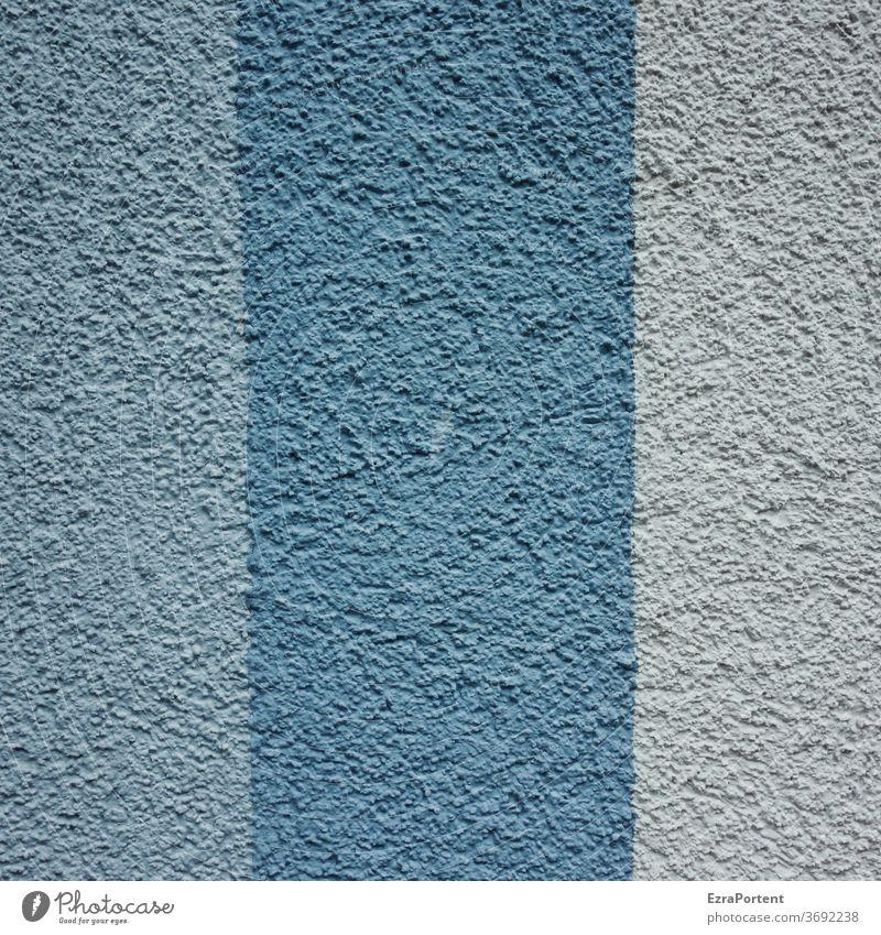 blau Fassade Linie Streifen Strukturen & Formen Design abstrakt Muster Hintergrundbild Farbe Grafik u. Illustration Grafische Darstellung graphisch Textfreiraum