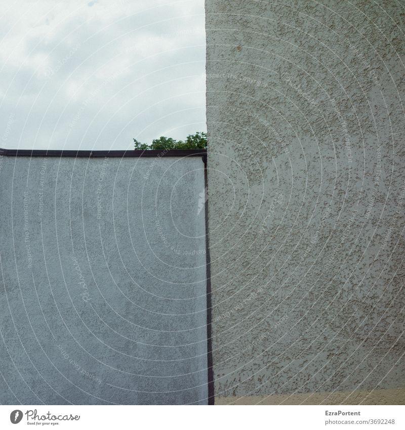 Mein Stück Himmel Wolken Fassade Linien Trennung Teilung Strukturen & Formen abstrakt Design graphisch Grafik u. Illustration Grafische Darstellung Muster
