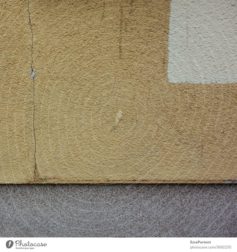 Riss Fassade Hintergrund Hintergrundbild Linie Putzfassade abstrakt Strukturen & Formen Design graphisch Grafik u. Illustration Farbe Grafische Darstellung