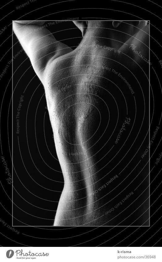 Rücken Mann maskulin Rahmen