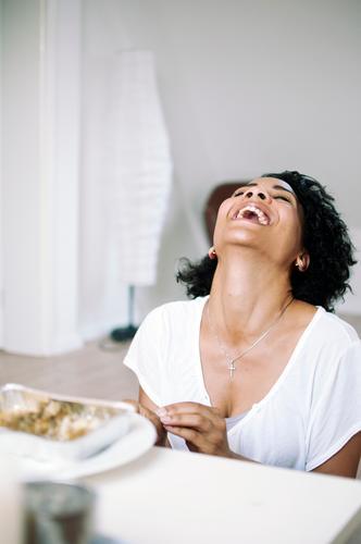 Spaß Mensch Jugendliche schön Freude Erwachsene Liebe Leben 18-30 Jahre feminin Gefühle lachen lustig Glück natürlich Freundschaft Stimmung