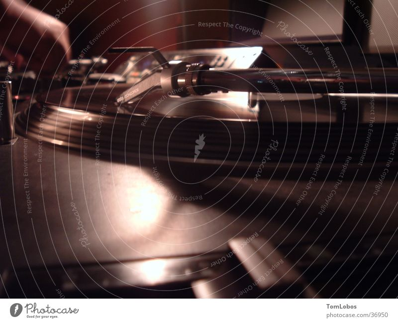 Clubnight Party Technik & Technologie Diskjockey Schallplatte Musikmischpult Plattenspieler Tonträger