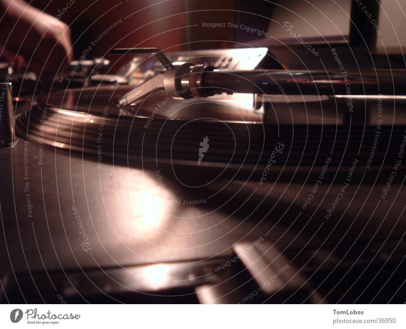 Clubnight Party Technik & Technologie Club Diskjockey Schallplatte Musikmischpult Plattenspieler Tonträger