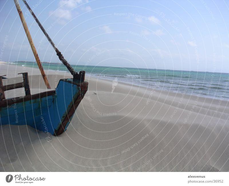das begrabene schiff Meer blau Sand Wasserfahrzeug beerdigen Tarifa