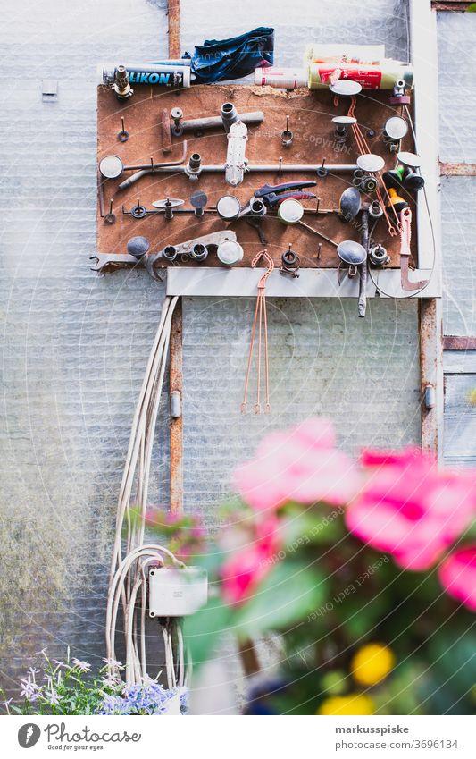 Gärtnerei Bewässerung Gießkanne gießen utensilien garten wasser Blumen Gewächshaus Gewächshaustunnel
