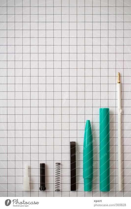 Bürogramm Papier Schreibstift kariert sortieren Anordnung Genauigkeit Präzision Diagramm Schreibwaren Büroarbeit Kugelschreiber Ordnungsliebe