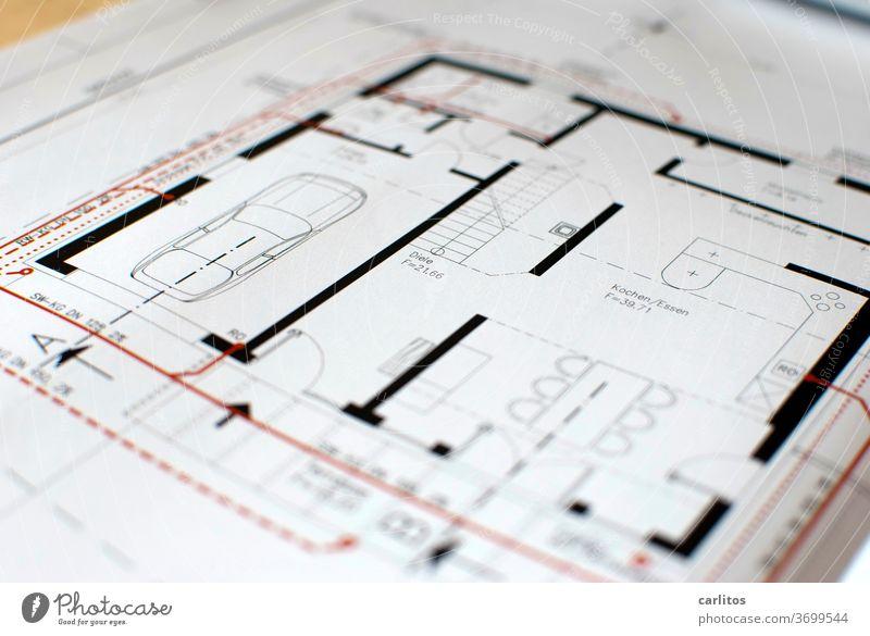 ich hab da schon `nen Plan ....... Architekt Architektur Grundriss Zeichnung CAD Baugenehmigung Bauantrag Hausplanung Neubau Design Konstruktion