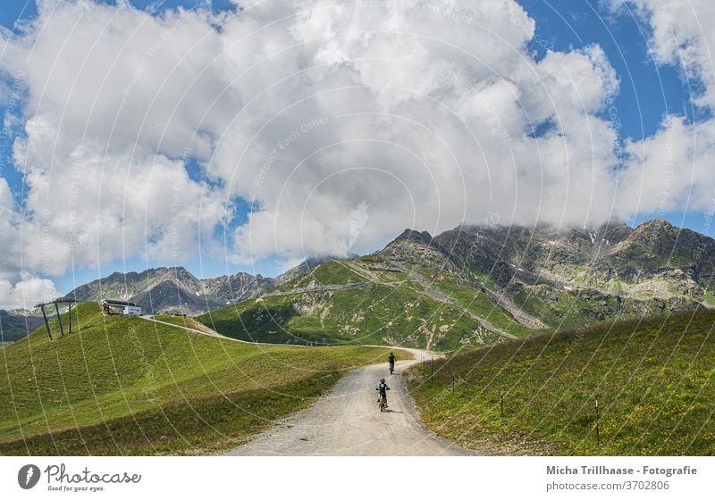Bergpanorama Tirol, Österreich Serfaus Fiss Ladis Alpen Berge u. Gebirge Gipfel Landschaft Natur Ferien & Urlaub & Reisen Bundesland Tirol Panorama (Aussicht)