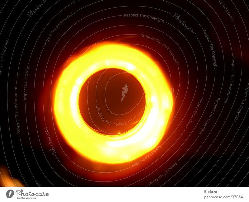 eclipse Sonne Lampe Erde glänzend Erde Stern Feuer Brand Kugel Globus Glühbirne Planet Moral Fototechnik Bildart & Bildgenre Astrologie