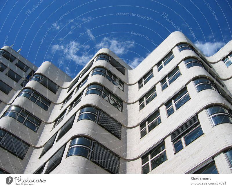 Gasag Haus Fenster Wolken Wellen Architektur Berlin