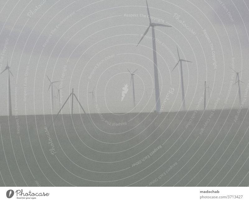 Ökostrom Strom Windrad Windkraft ökologisch Energiewirtschaft Windkraftanlage Erneuerbare Energie Umweltschutz Technik & Technologie umweltfreundlich Sauberkeit