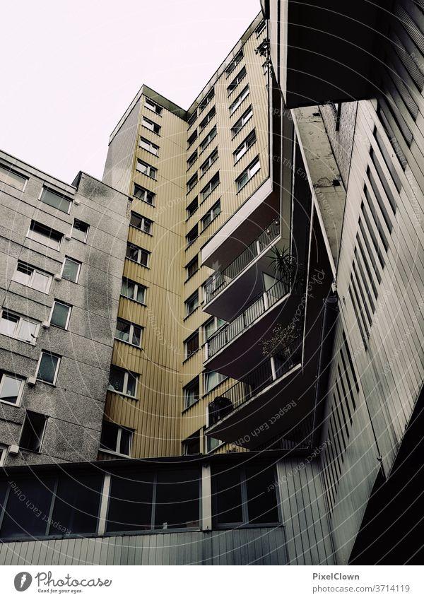 Hochhaus Ansiedlung als Wohnblock hochhaus Architektur Himmel Wahrzeichen Gebäude Köln, Wohnen, urban, Großstadt