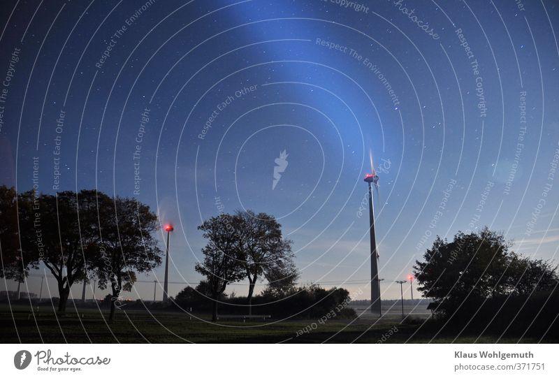 Teure Energie Himmel Natur blau Pflanze Baum rot Landschaft schwarz Umwelt Herbst Feld Energiewirtschaft Stern Technik & Technologie Industrie Wolkenloser Himmel